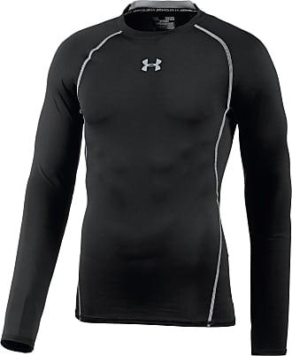 Under Armour Heatgear Armour Kompressionsshirt Herren in schwarz, Größe XL