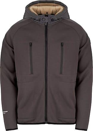 Weekend Offender Mclarnin Full Zip Hoodie Mens Grey - HDAW1803-Armour (Medium)