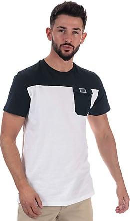 Weekend Offender Mens Mens Gitarama Pocket T-Shirt in White - 2XL