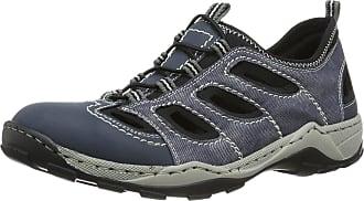 Rieker 8065, Mens Low-Top Sneakers, Blue, 8 UK (42 EU)