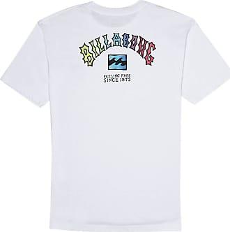 Billabong Arch Short Sleeve T-Shirt Medium White