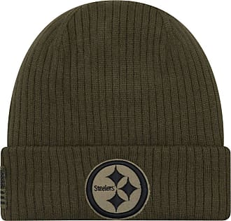 New Era Oakland Raiders Beanie On Field 2018 Salute to Service Knit