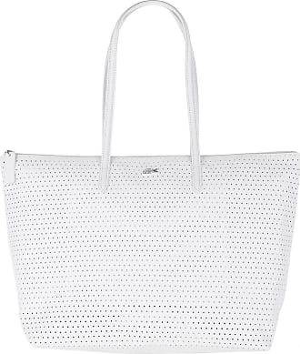 Lacoste Shopping Bags - Large Shopping Bag Bright White - white - Shopping Bags for ladies