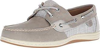 Sperry Top-Sider Oasis Dock Knit Boat Shoe Women 5.5 Grey