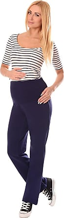 Purpless Maternity Wide Leg Yoga Lounge Gym Pregnancy Trousers Over Bump Belly Support for Pregnant Women 1300 (10 Short, Navy)