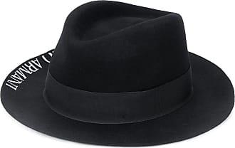Emporio Armani Fedora con stampa - Di colore nero