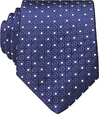 Eton Krawatte - BLAU/ WEISS
