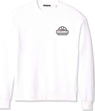 Scotch /& Soda Mens Logo Text Sweatshirt
