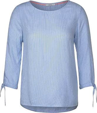 Cecil Bluse mit feinen Streifen - blouse blue