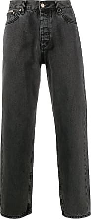 Eytys Calça jeans reta boyfriend Benz - Preto