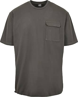 Urban Classics Heavy Boxy Tactics Tee - T-Shirt - charcoal