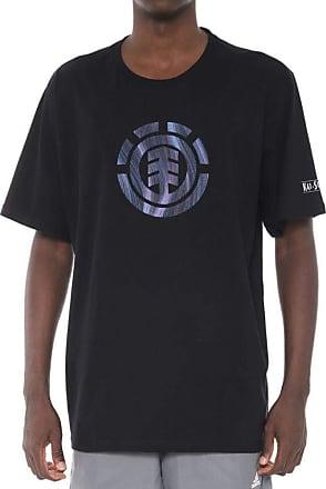 Element Camiseta Element Twists Logo Preta