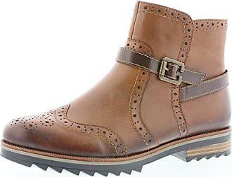 27f3eb16faea Remonte R2278 Damen Stiefeletten, Stiefel, Boots, Schlupfstiefel braun  (Chestnut Kastanie