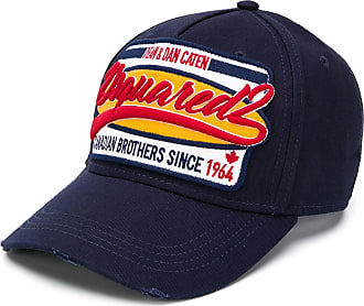 Dsquared2 embroidered baseball cap - Blue