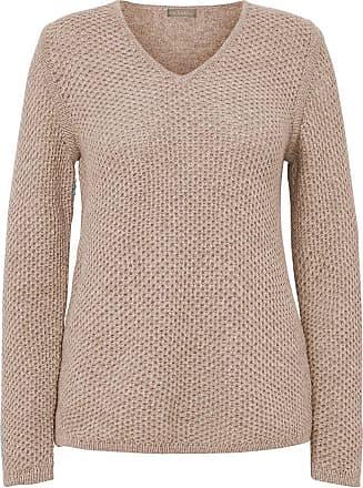 include Pullover V-Ausschnitt include braun
