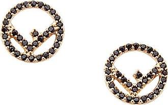 Fendi F is Fendi earrings - Metallic