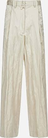 Dries Van Noten Podium creased-effect crepe trousers - DRIES VAN NOTEN - woman