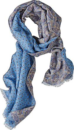 Pellens & Loick double-printsjaal, dames, in linnen
