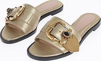 Alexander McQueen leather sandals Größe 35