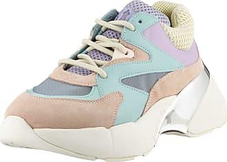 Pinko Womens Maggiorana 2 Slip On Trainers, Multicolour (Verde Acqua/Rosa/Lilla Ty7), 4 UK