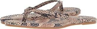 Yosi Samra Rivington (Beige Serpent Print Leather) Womens Flat Shoes