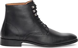Éram cuir à Boots lacet noir zxzgpqr