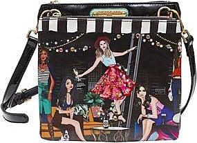 Nicole Lee Bolsa Cruzada House PARTY Estampada<br>22.86 x 21.59 x 6.35 cm<br>Multicolor