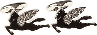 Etro Animal Motif Cufflinks Mens Silver