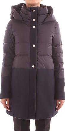 Herno PI1199D 39601 Womens Jacket and Jacket - Blue - UK 12