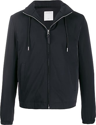 Sandro Orion hooded jacket - Blue