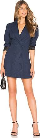 Lovers + Friends Sandra Blazer Dress in Navy