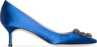 Manolo Blahnik Pumps Hangisi - Di colore blu