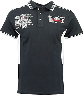 Geographical Norway Kling Men Polo Shirt Blue