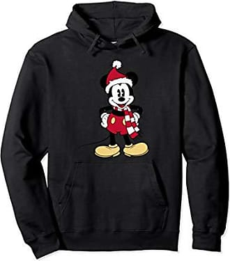 Disney Santa Mickey Mouse Hoodie