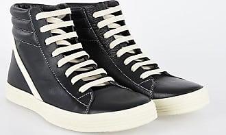 Rick Owens Leather GEOTHRASHER HIGH Sneakers Größe 37