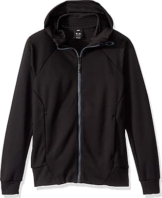 Oakley Enhance Technical Fleece Jacket.Grid 9.0 Sweatshirt, Blackout, Medium