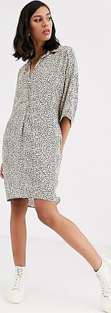 Whistles mini leopard print lola mini dress-Brown