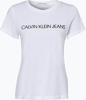 Calvin Klein Jeans Damen T-Shirt weiss