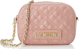Love Moschino Womens Jc4208pp0a Messenger Bag, Pink (Powder), 22x16x6 Centimeters (W x H x L)