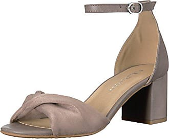 Chinese Laundry Womens Jill Dress Sandal, Pebble Taupe Suede-Smooth, 8 M US