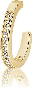 Sif Jakobs Jewellery Ear cuff Simeri - 18K vergoldet mit weißen Zirkonia