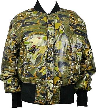 7a14e313b08bc Jean Paul Gaultier Vintage Camouflage Faces Reversible Bomber Jacket