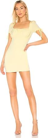 Superdown Camille Mini Dress in Yellow