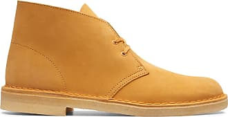 Clarks Mens Tumeric Clarks Desert Boot Size 10.5