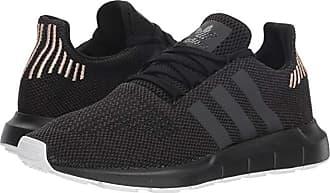 adidas Originals Swift Run W (Core Black/Tech Silver Metallic/Footwear White) Womens Shoes