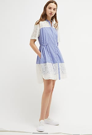 French Connection Adena Mix Shirt Dress