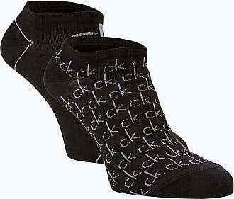 Calvin Klein Damen Sneakersocken im 2er-Pack schwarz
