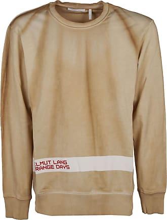 Helmut Lang Fashion Man J04HM516YCG Beige Cotton Sweatshirt | Fall Winter 19