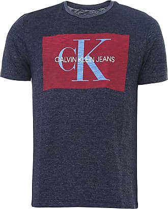 Calvin Klein Jeans Camiseta Calvin Klein Jeans Etiqueta Azul-Marinho