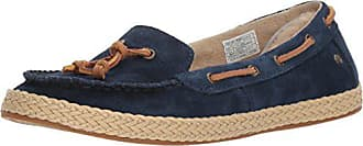 UGG Womens Channtal Loafer Flat, Navy, 5 M US